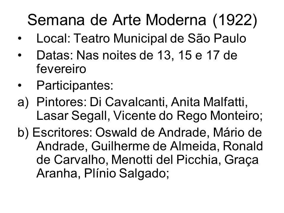 Semana de Arte Moderna (1922)