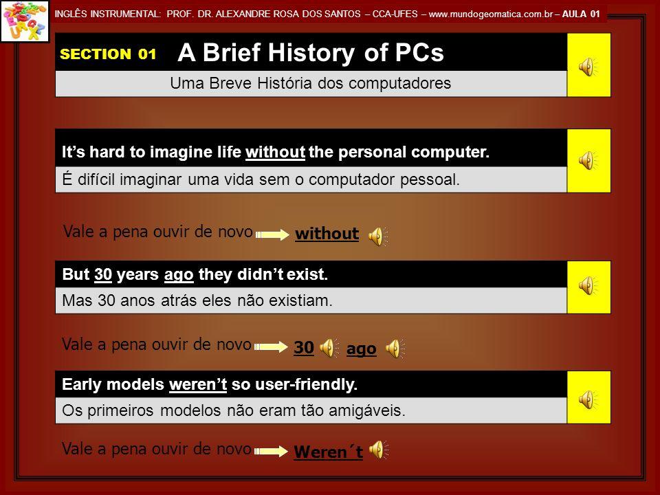 Uma Breve História dos computadores
