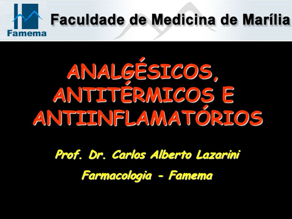 Prof. Dr. Carlos Alberto Lazarini