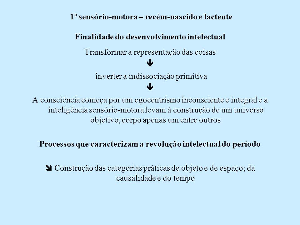 Processos que caracterizam a revolução intelectual do período