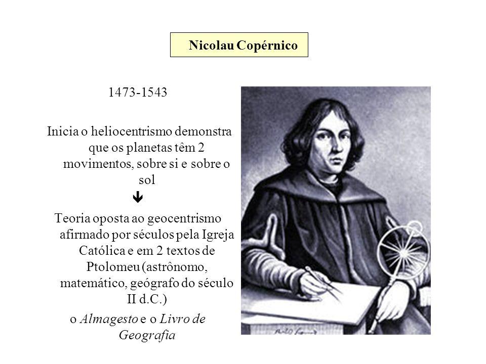 o Almagesto e o Livro de Geografia