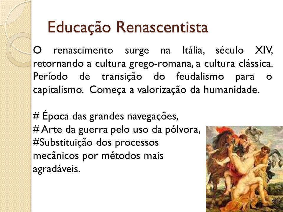 Educação Renascentista