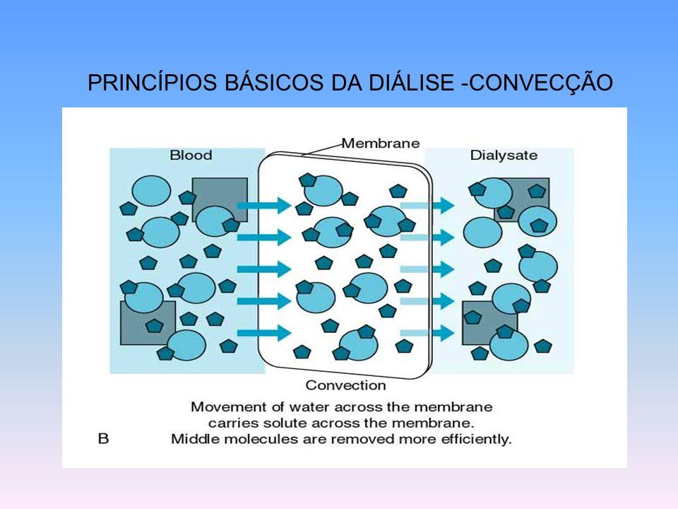 PRINCÍPIOS BÁSICOS DA DIÁLISE -CONVECÇÃO