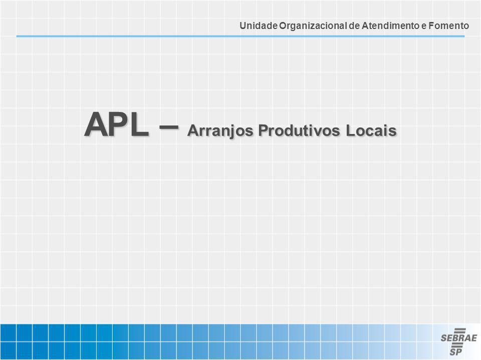 APL – Arranjos Produtivos Locais