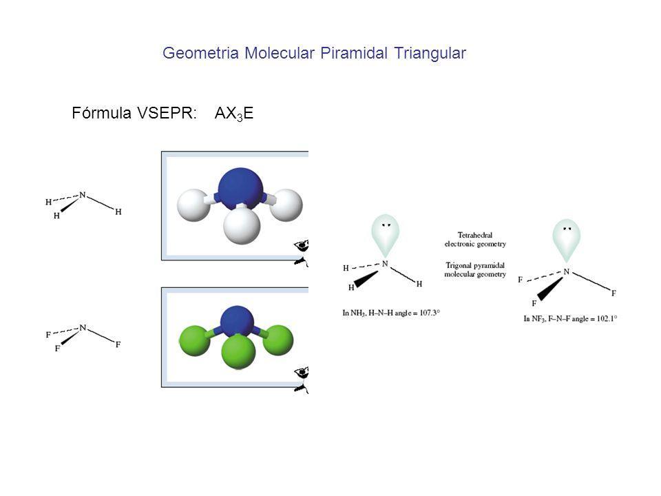 Geometria Molecular Piramidal Triangular