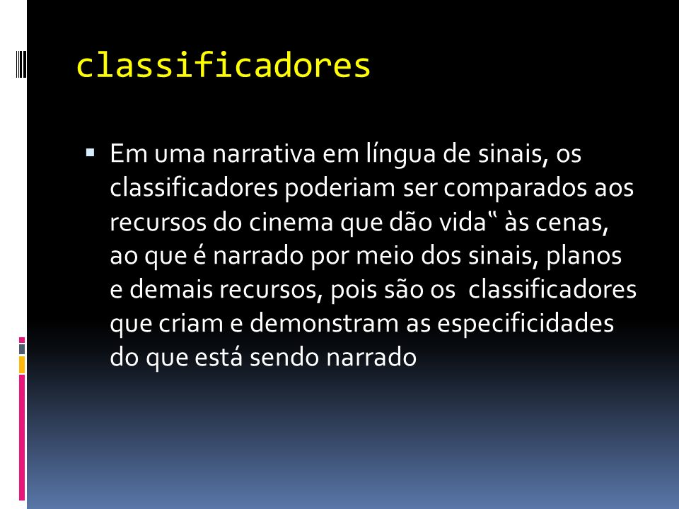 classificadores