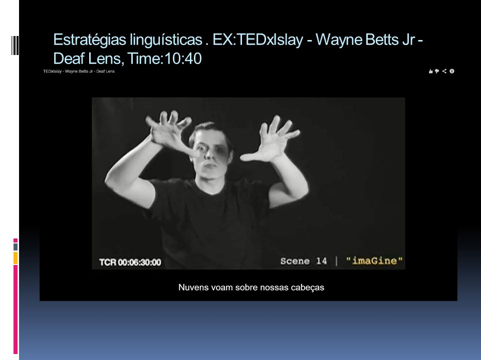 Estratégias linguísticas