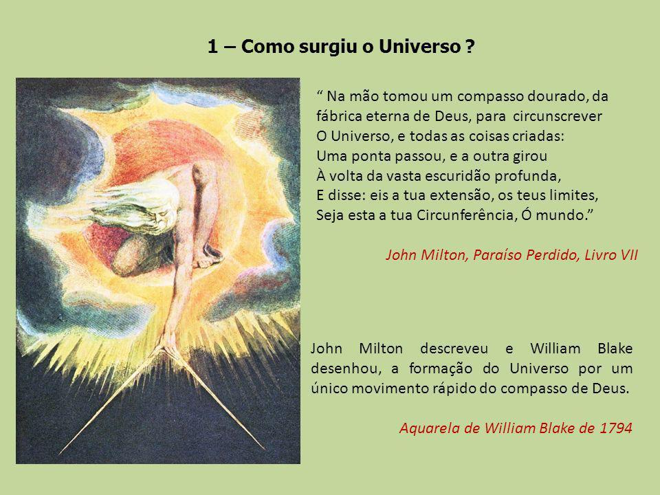 1 – Como surgiu o Universo