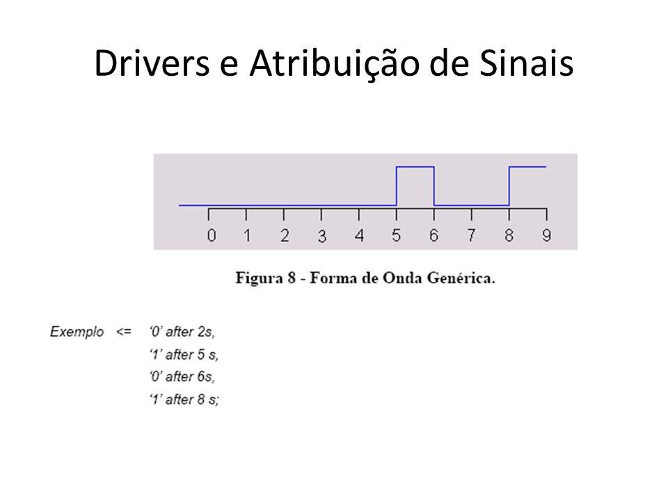 Drivers e Atribuição de Sinais