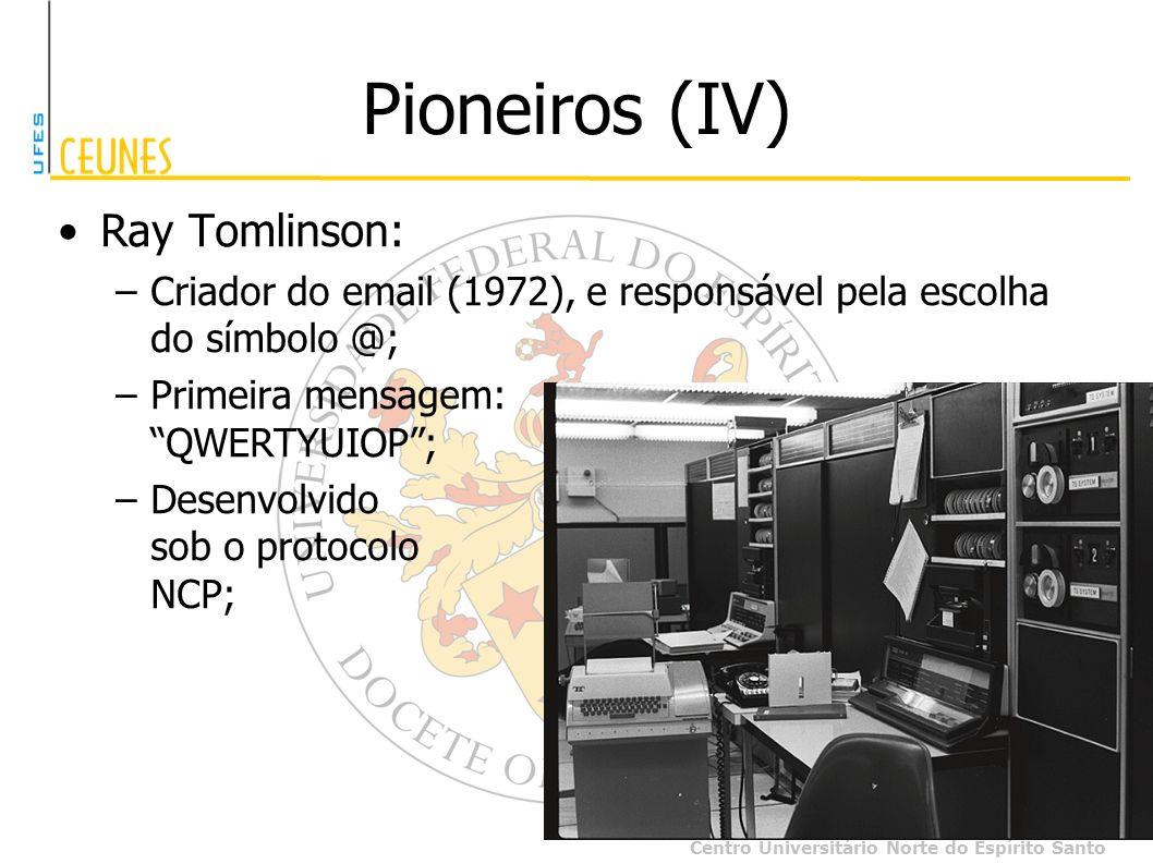 Pioneiros (IV) Ray Tomlinson: