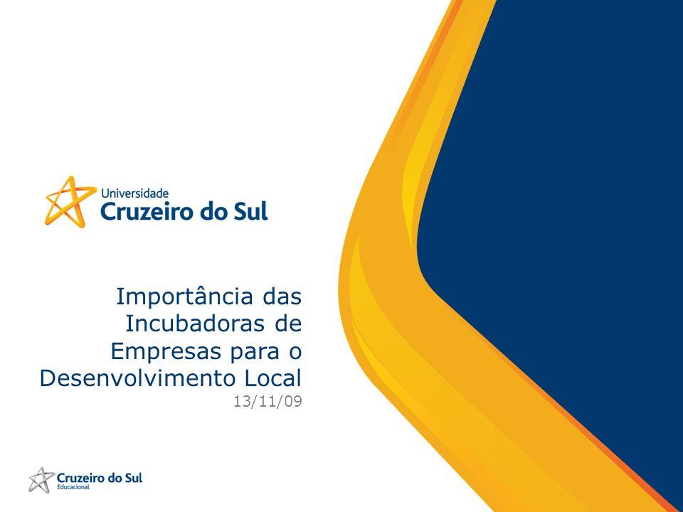 Importância das Incubadoras de Empresas para o Desenvolvimento Local