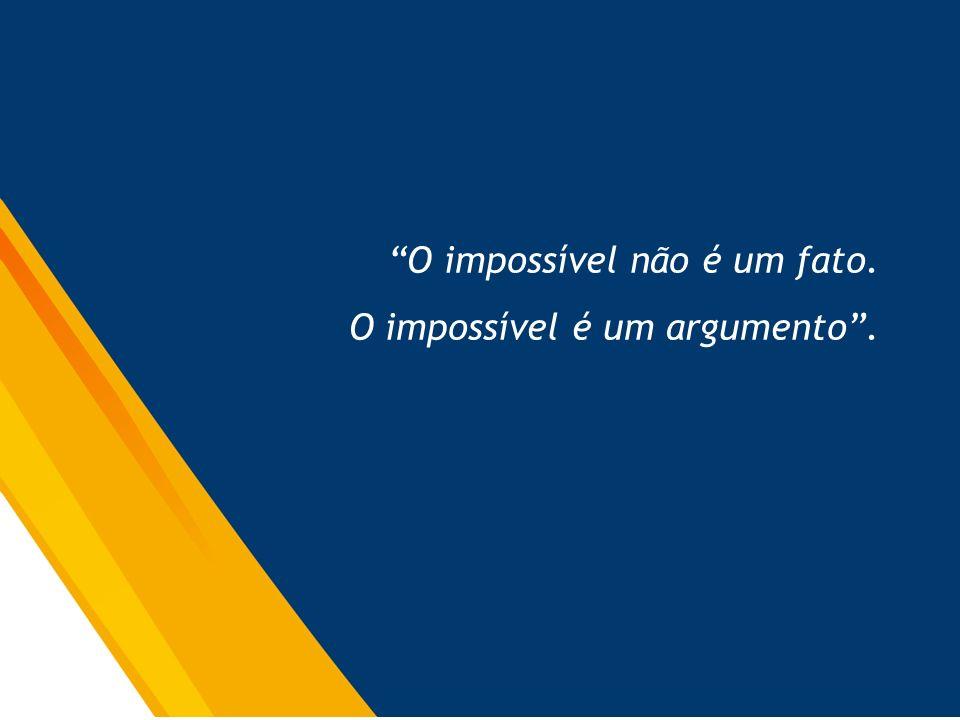 O impossível não é um fato.