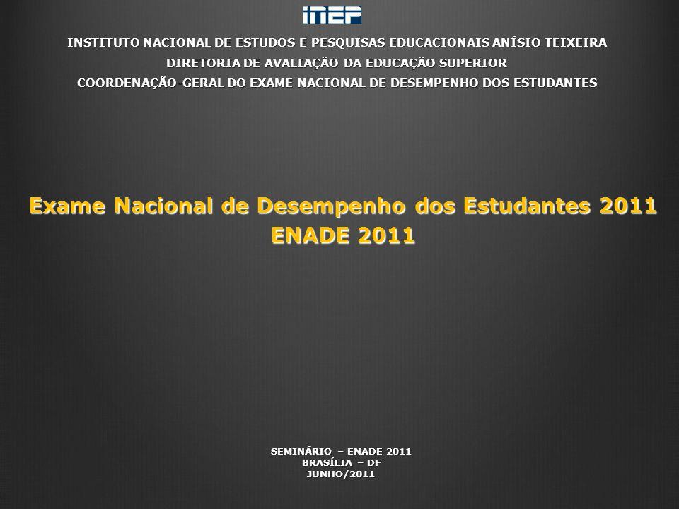 Exame Nacional de Desempenho dos Estudantes 2011 ENADE 2011