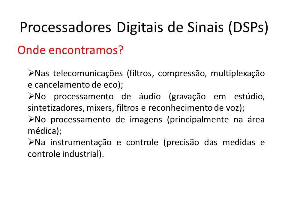 Processadores Digitais de Sinais (DSPs)