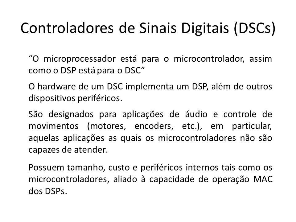 Controladores de Sinais Digitais (DSCs)