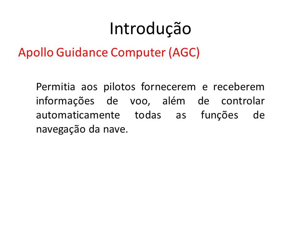 Introdução Apollo Guidance Computer (AGC)