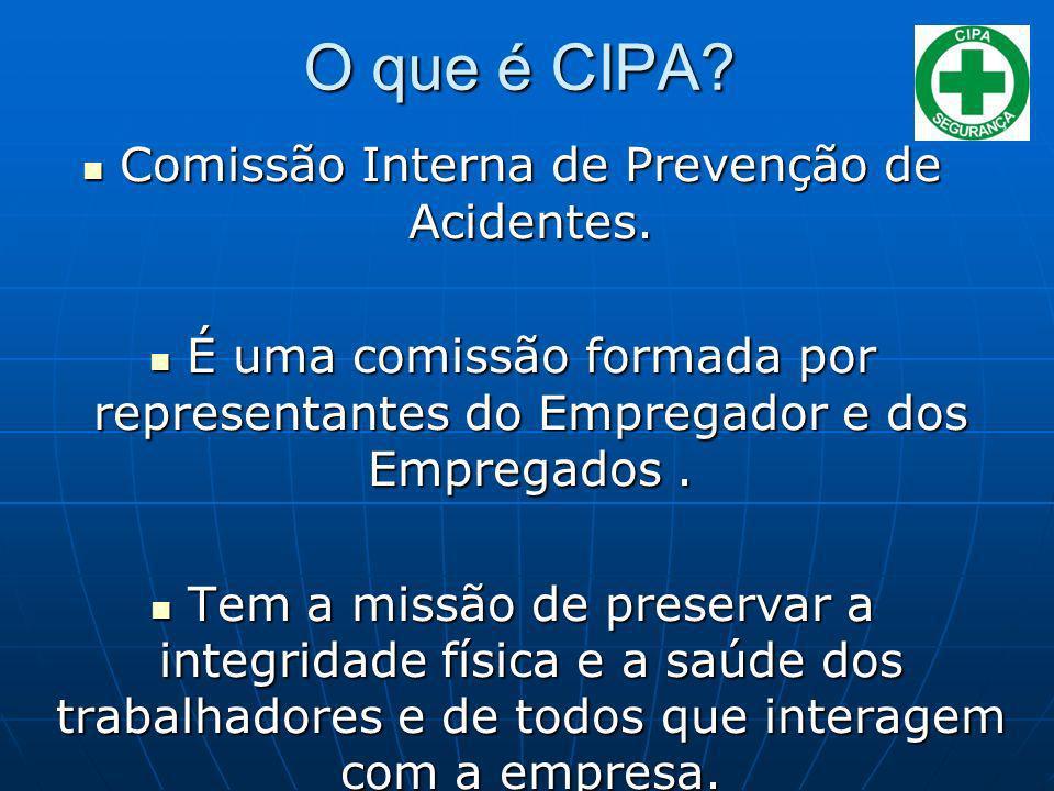 Comissão Interna de Prevenção de Acidentes.