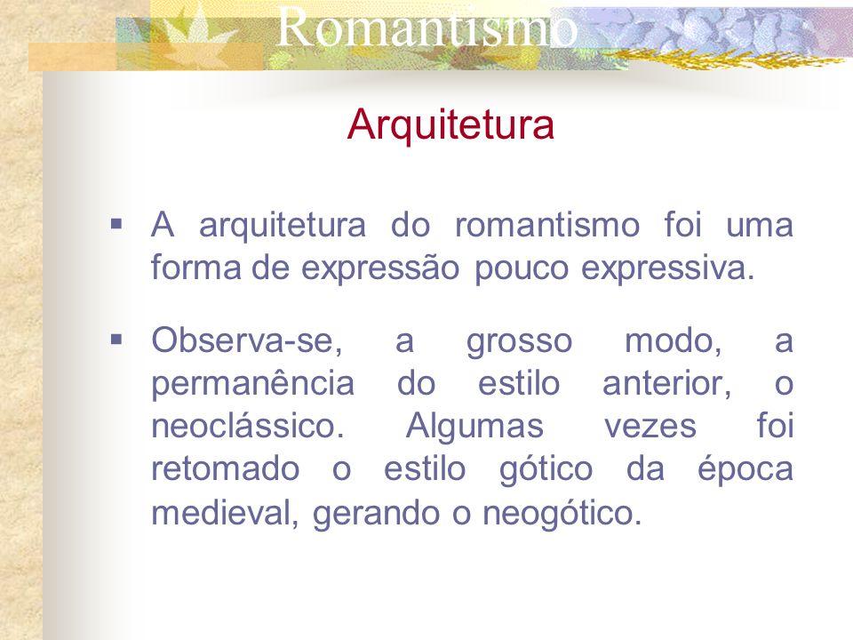 Romantismo Arquitetura