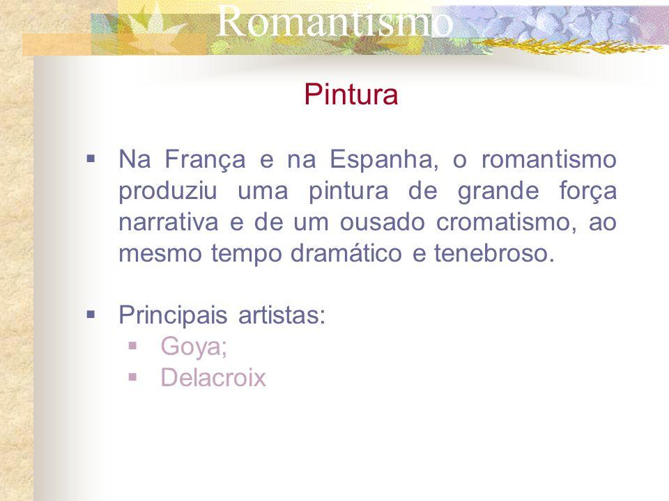 Romantismo Pintura.