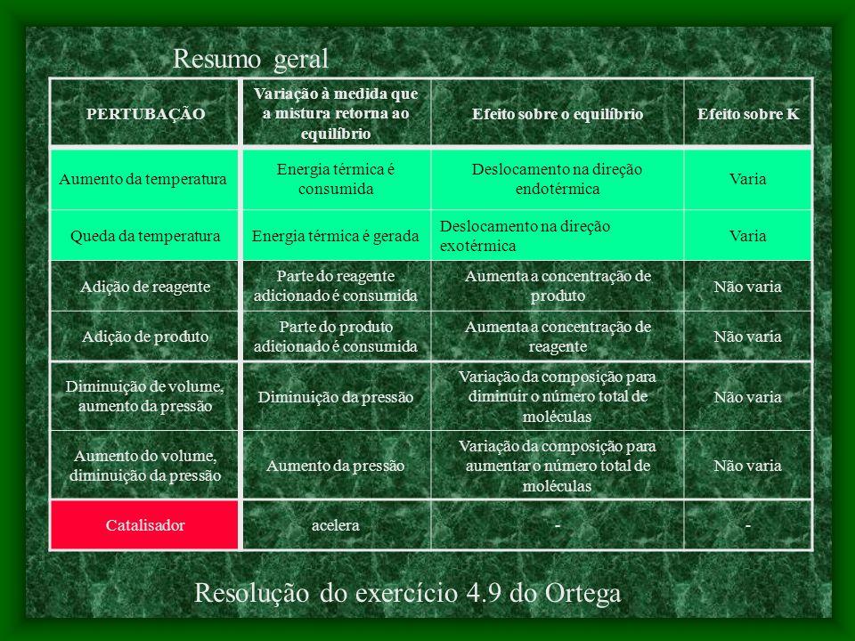 Resolução do exercício 4.9 do Ortega