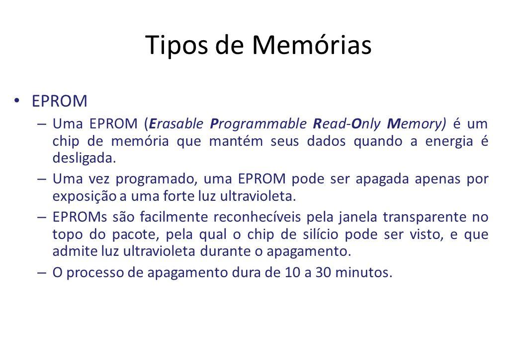 Tipos de Memórias EPROM