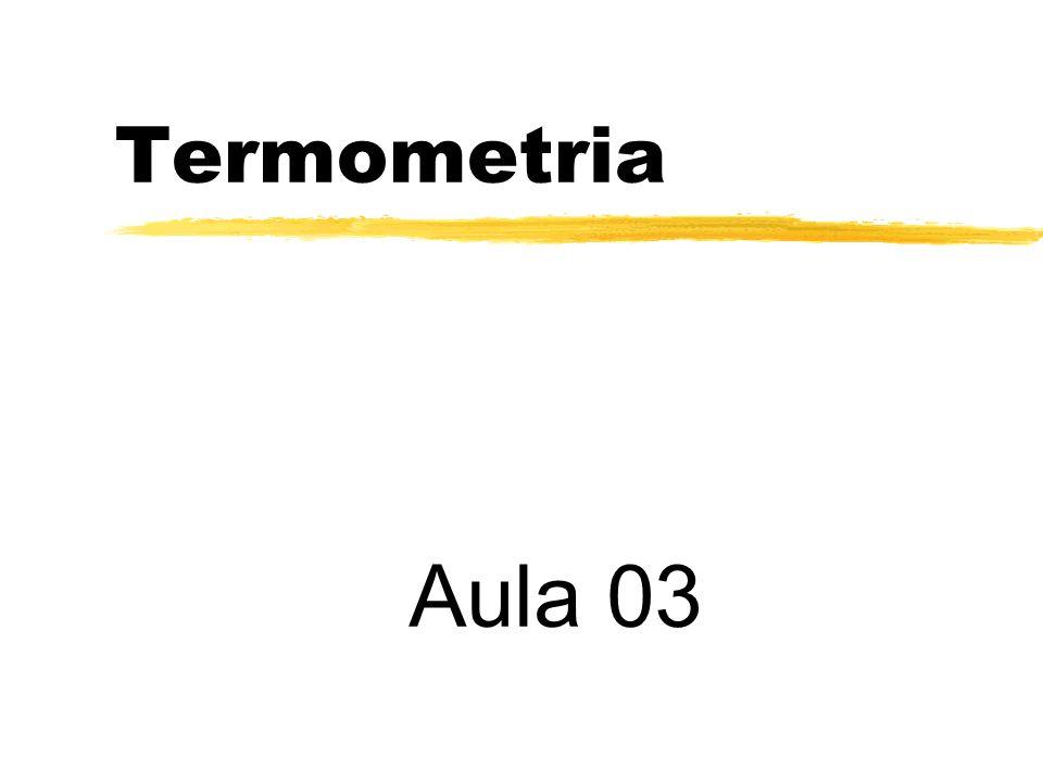 Termometria Aula 03