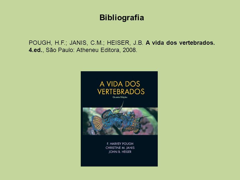 Bibliografia POUGH, H.F.; JANIS, C.M.; HEISER, J.B.