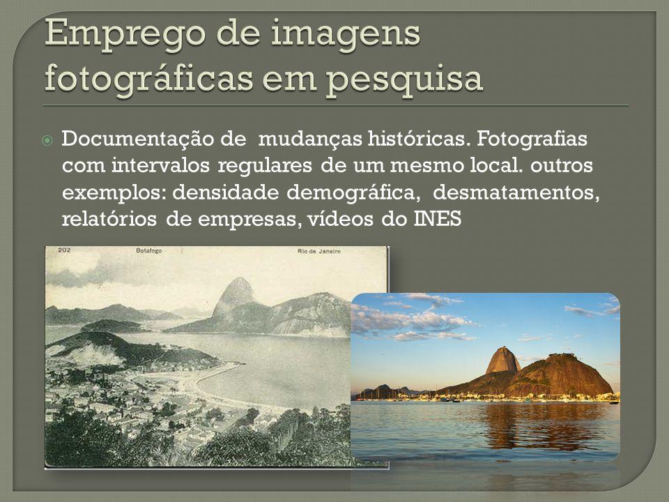 Emprego de imagens fotográficas em pesquisa