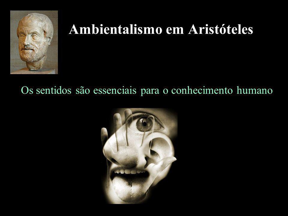 Ambientalismo em Aristóteles