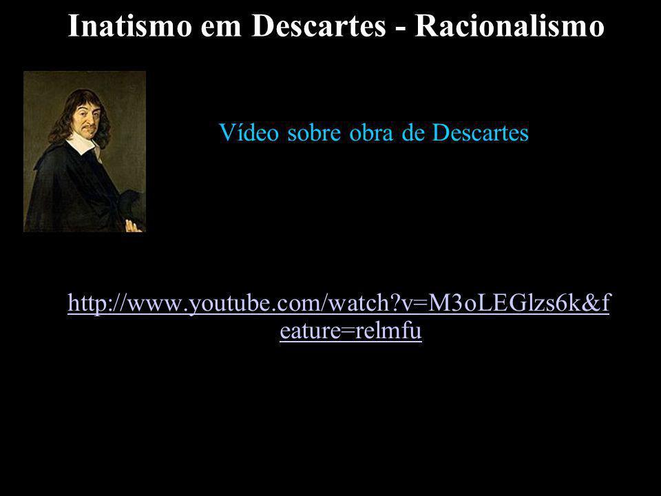 Inatismo em Descartes - Racionalismo