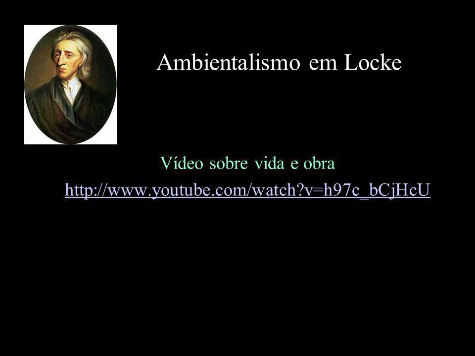 Ambientalismo em Locke