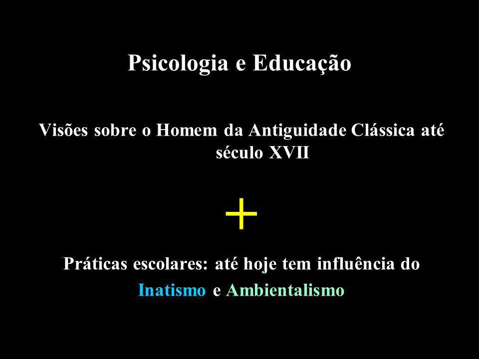 + Psicologia e Educação