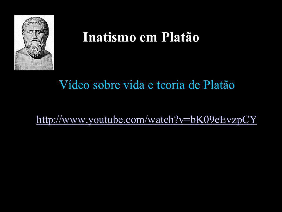 Vídeo sobre vida e teoria de Platão