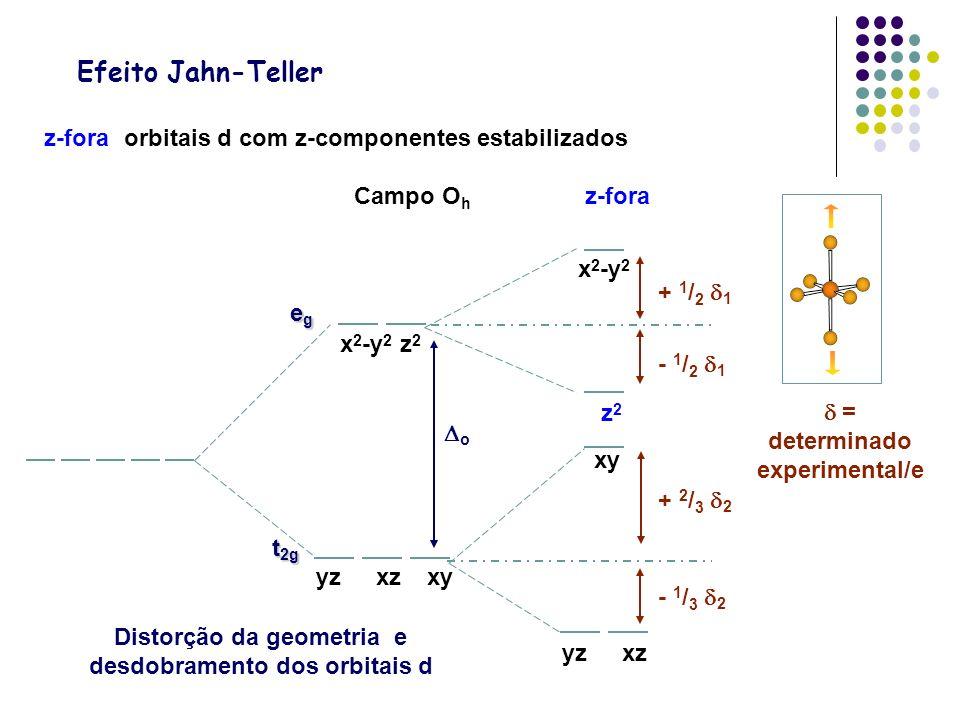  = determinado experimental/e