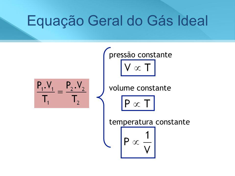 Equação Geral do Gás Ideal