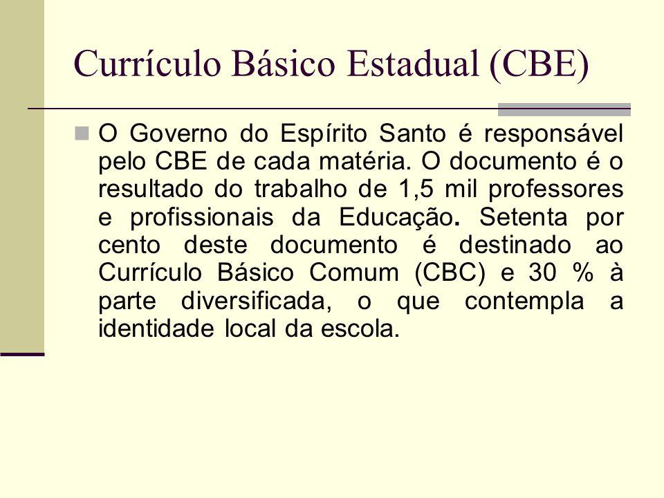 Currículo Básico Estadual (CBE)
