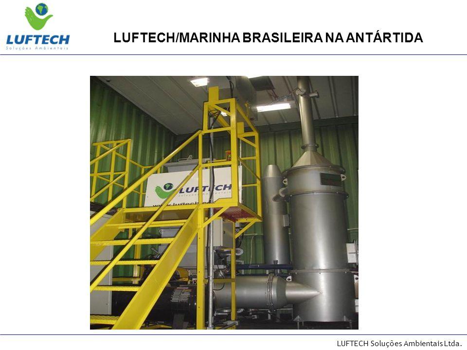 LUFTECH/MARINHA BRASILEIRA NA ANTÁRTIDA