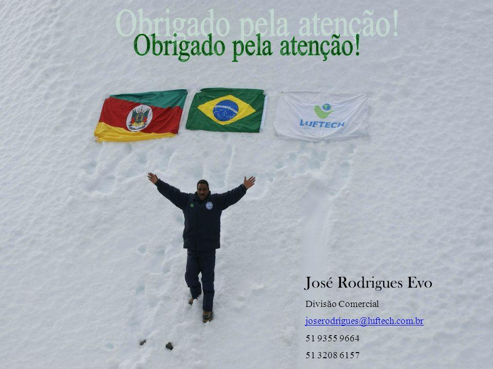 Obrigado pela atenção! José Rodrigues Evo Divisão Comercial