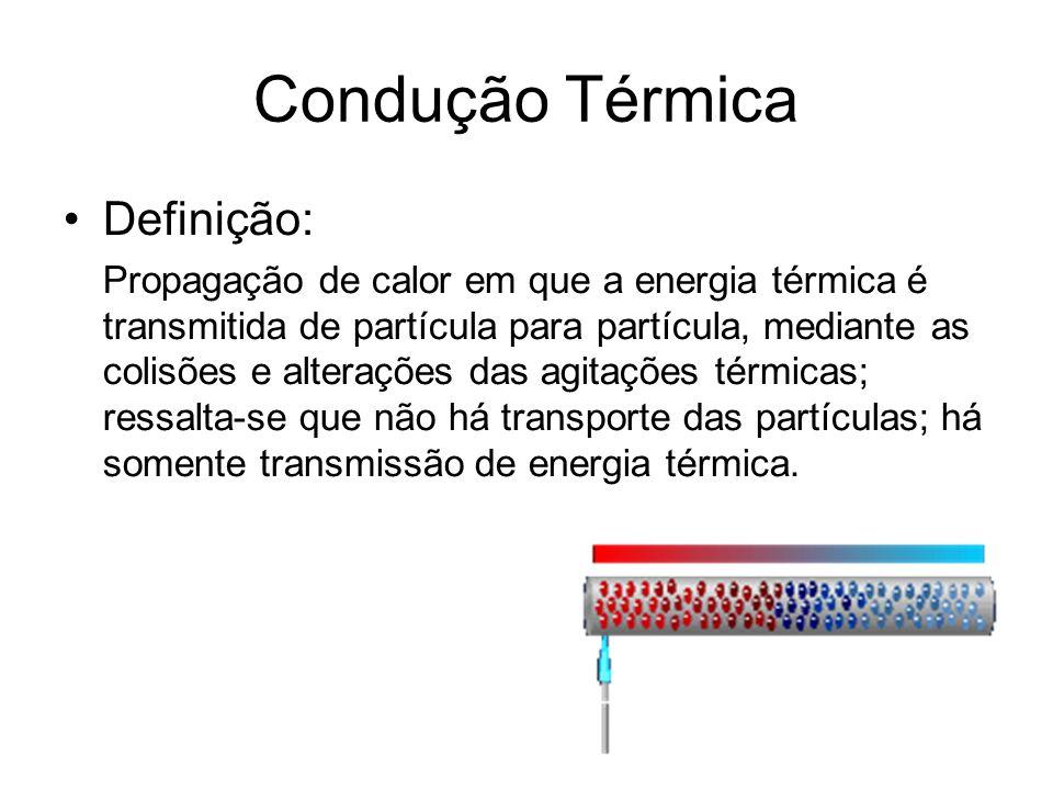 Condução Térmica Definição: