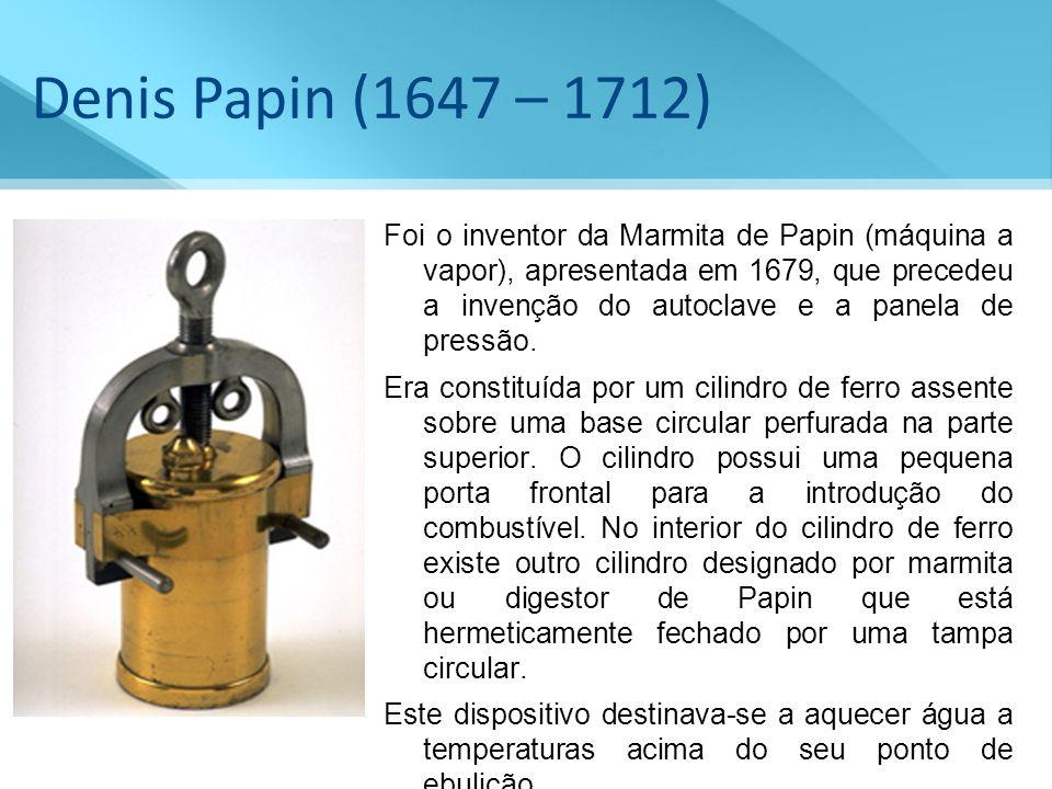 Denis Papin (1647 – 1712)