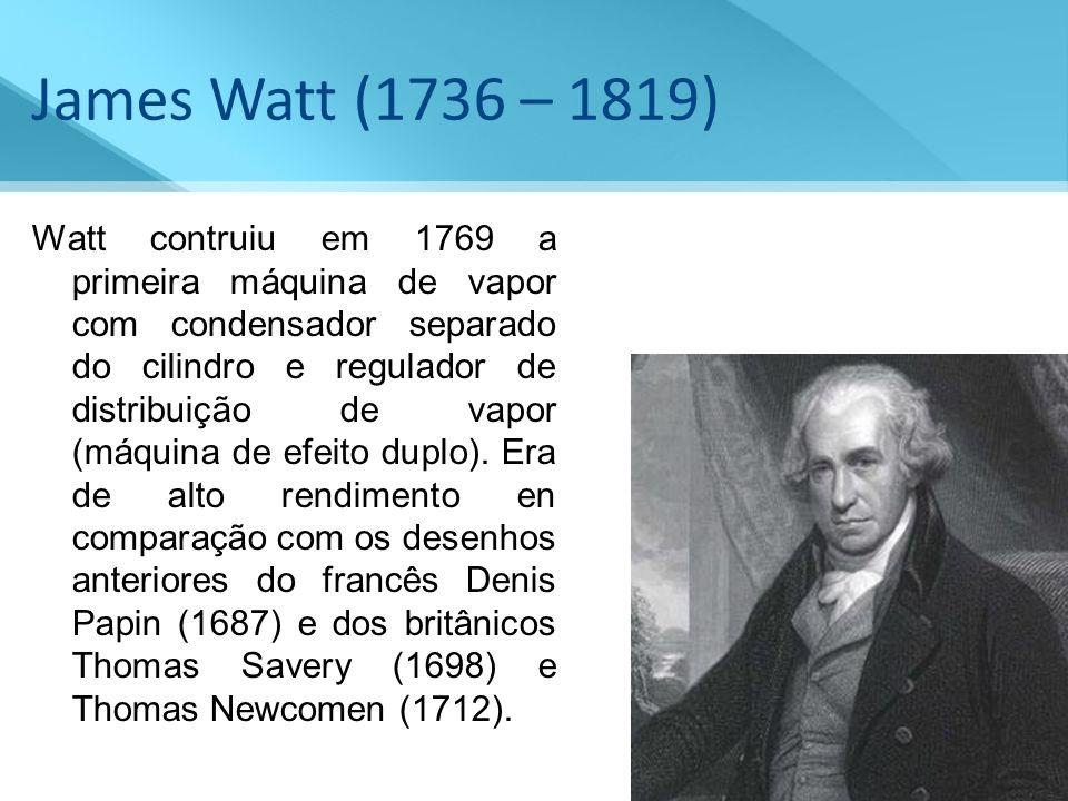 James Watt (1736 – 1819)