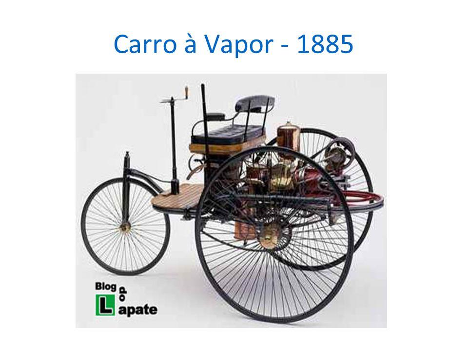Carro à Vapor - 1885