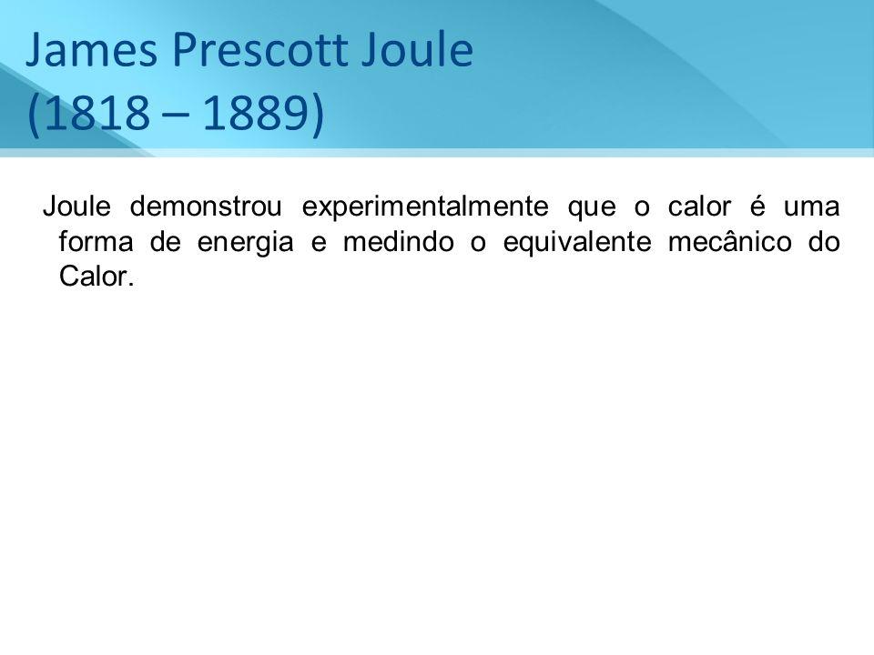 James Prescott Joule (1818 – 1889)