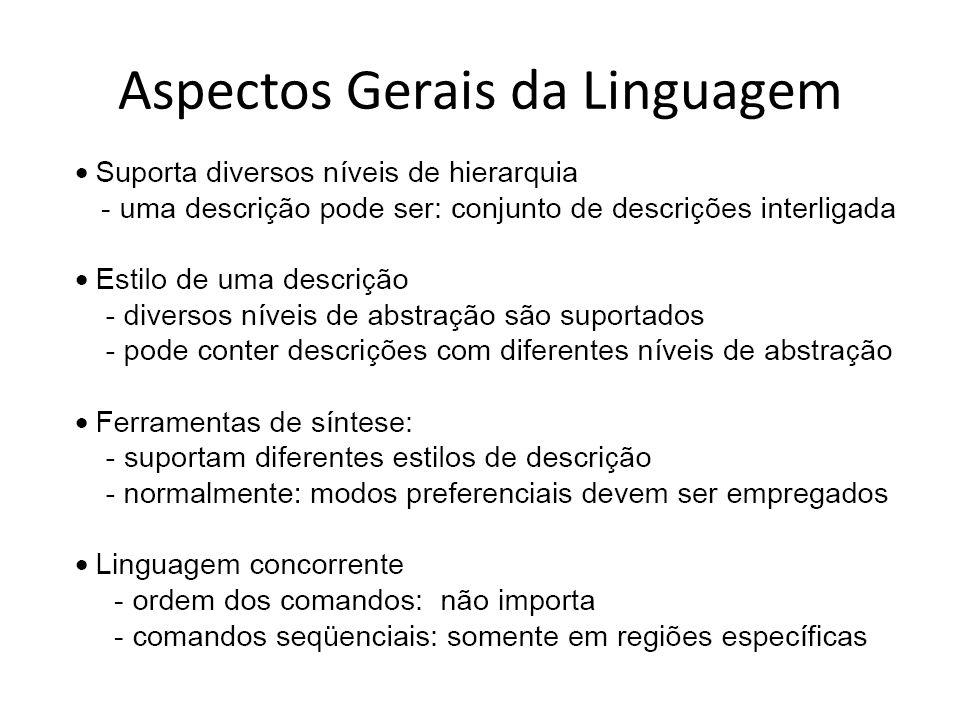 Aspectos Gerais da Linguagem