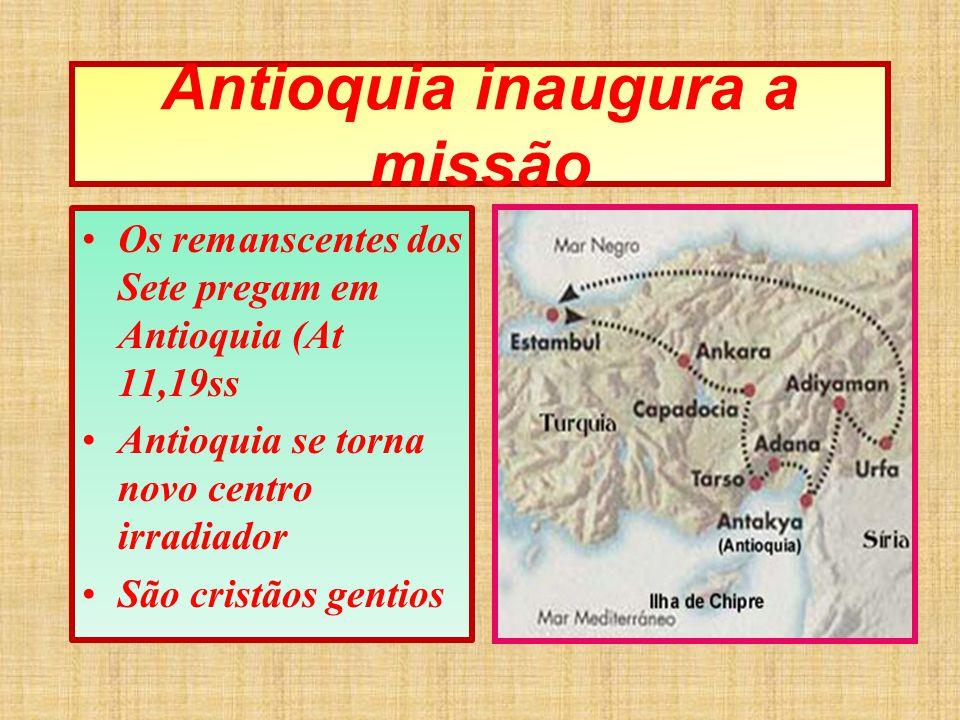 Antioquia inaugura a missão