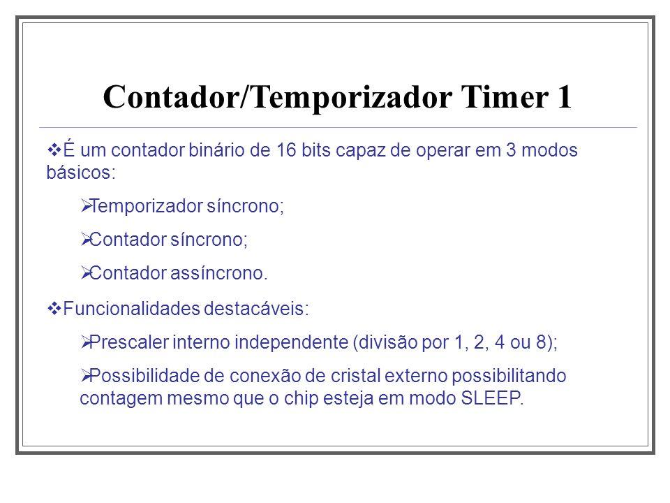 Contador/Temporizador Timer 1