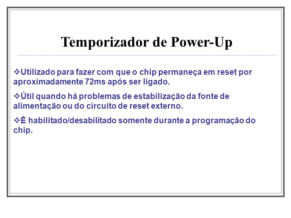 Temporizador de Power-Up
