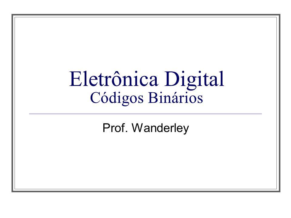 Eletrônica Digital Códigos Binários