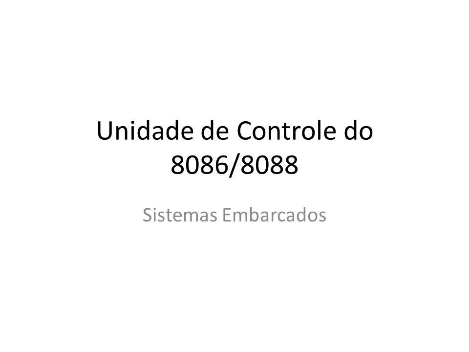 Unidade de Controle do 8086/8088