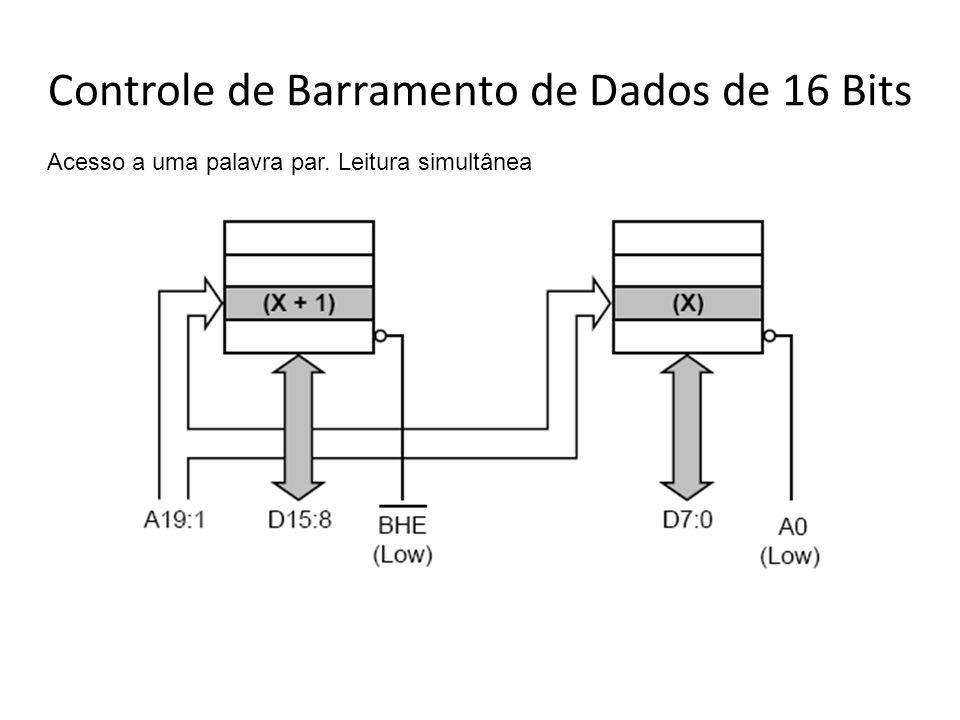 Controle de Barramento de Dados de 16 Bits